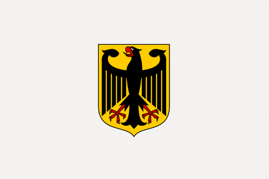 Nationalwappen Deutschland Bundesadler